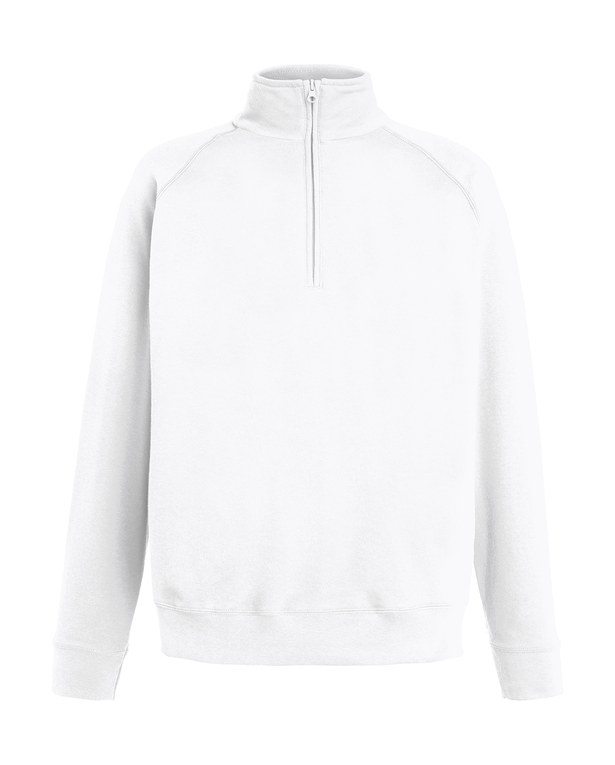 FruitOfLoom Lightweight Zip Neck Sweat